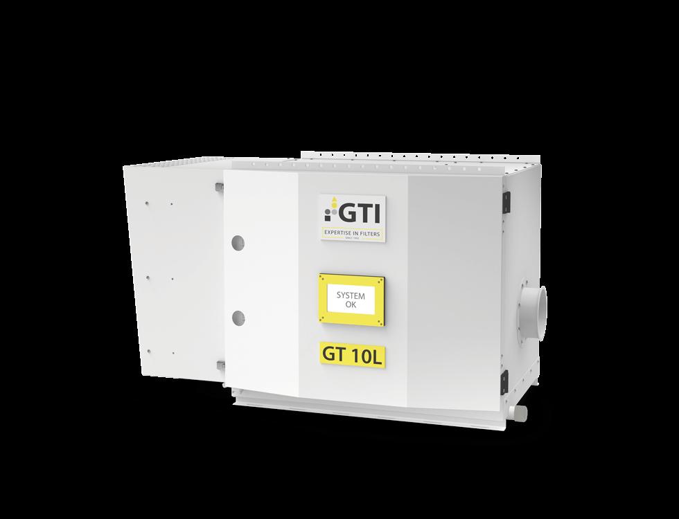 Abbildung Luftfiltergerät GT-10L