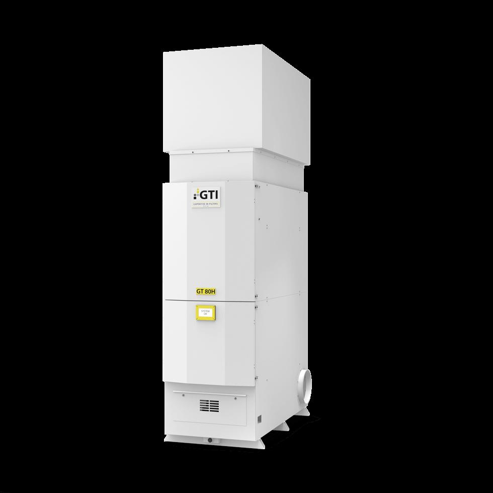Abbildung Luftfiltergerät GT-80H
