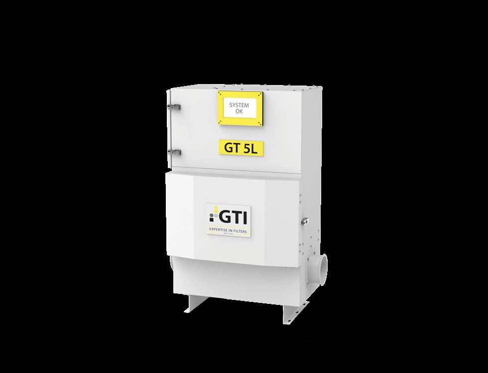 Abbildung Luftfiltergerät GT-5L