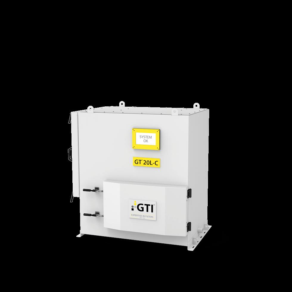 Abbildung Luftfiltergerät GT-20L-C